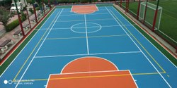 PU Outdoor Tennis Court Flooring