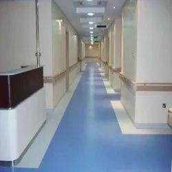 wonderfloor Rubber Hospital Vinyl Flooring, For Hospitals, Thickness: 1.5mm,2.00mm 3.00mm