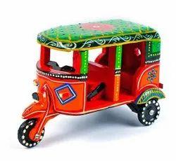 与设计的颜色多色木手工艺微型汽车人力车木玩具