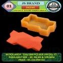 Zigzag Synthetic Silicone Rubber Mold