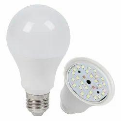 Round Cool White AC DC LED Bulb, 12 Watt