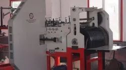 Paper Cover Making Machine with two color Printing