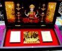 Gold Plated Shree Laxmi Charan Chinh
