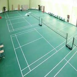 Indoor PVC Badminton Court Flooring