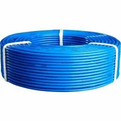 Dec Industries Flame Retardant PVC Insulated Blue Industrial Cables, Packaging Type: Roll