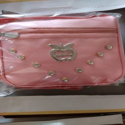 Nylon Party Ladies Designer Peach Purse