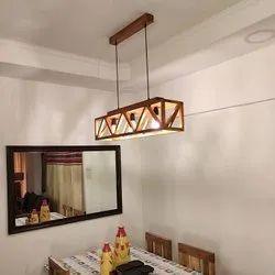 Symplify Interio Modern/Contemporary Symmetric Centrum Wooden Series Hanging Lamp