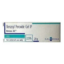 Benzac AC 2.5 % ( Benzoyl Peroxide Gel )