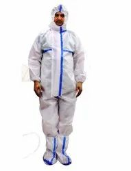 Disposable non woven PPE kit for medical use