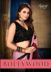 Saroj Textiles Bollywood Georgette Designer Saree Catalog