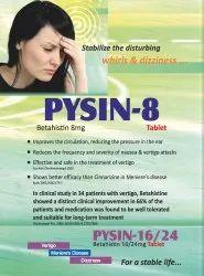 Pysin 8 mg Tablets