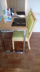M.s Frame & Wood. costamized Restaurant Table Chair, For Hotel & Cafe., Seating Capacity: 4 Seater