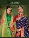 Sangam Prints Kanchipuram Handloom Weaving Silk Saree Catalog