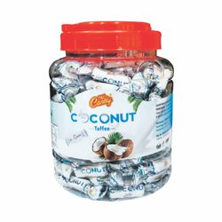 mr candy white coconut toffee, Packaging Type: Plastic Jar
