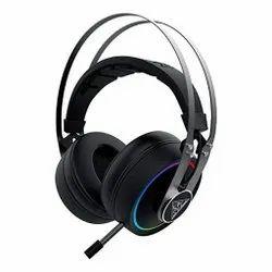 Gamdias Hebbe P1A RGB在耳耳机,灵活的麦克风和虚拟7.1环绕着