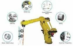 Robotic Deburring Machine