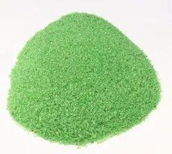 Green Colour Aquarium Sand