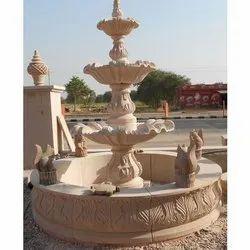 Antique Stone Garden Fountain