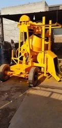 Concrete Mixer With Lift Machine 55Ft