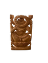 Saraswati Ji Wooden Murti 4 Inch