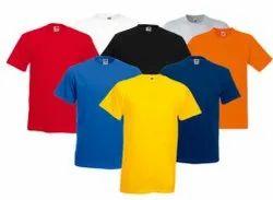Half Sleeve Hosiery Mens Round Neck T Shirt