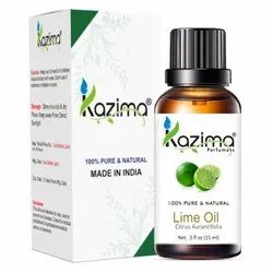 Kazima Lime Essential Oil - 100% Pure, Natural & Undiluted Oil