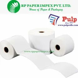 PULP Direct Thermal Labels 100 x 50 mm (4 x 2 inch), 1 Up Chromo DT100x50x1