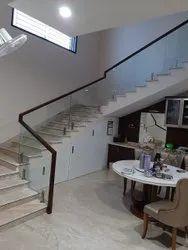 Copper Duplex Stair Railings