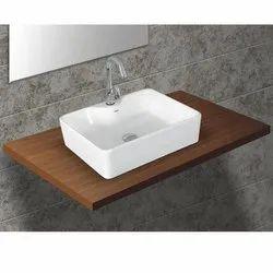 Ceramic Jaquar Table Top Basin
