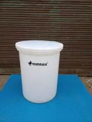 Cylindrical Vertical Tank With Open Top OMTEX