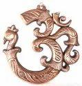 Nirmala Handicrafts Exporters Framing Ganesha Gun Metal Wall Hangings