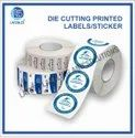 Printed Die Cutting Label