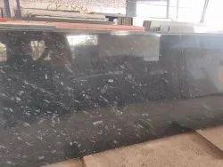 Pearl Black Granite Slabs, Thickness: 15 mm