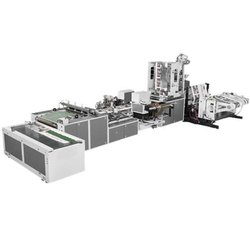 Ocean Inernational Automatic Patch Handle Bag Making Machine in India