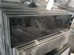 Pan India Black Galaxy Granite, Slab, Thickness: 15-20 mm