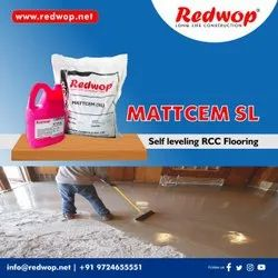 MATTCEM SL - Self levelling cement based color flooring