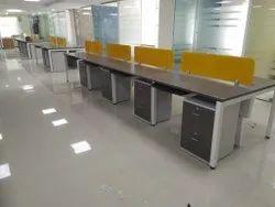 Open Desk Work Stations