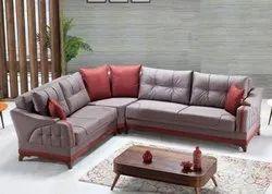 Pride Modern L Shape Sofa Set, For Home, Living Room