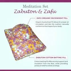 Meditation Set - Zabuton & Zafu Cushion