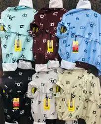 Mens Full Sleeve Printed Casual Shirts