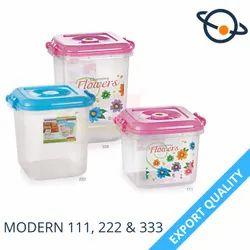 Aristo Plastic Container Modern 111, 222 & 333
