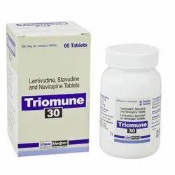 Triomune (Stavudine Lamivudine Nevirapine)