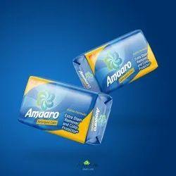 Blue Jasmine Amaaro Detergent Soap Bar, Packaging Size: 125gm, Shape: Rectangle