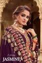 Amyra Designer Jasmine Georgette Embroidered And Diamond Work Designer Suit Catalog