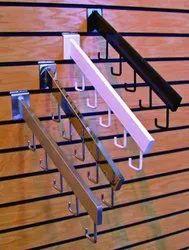 CDRI MS Slat wall 5J Hook Hanger, Shape: Straight, Size: 150 Mm