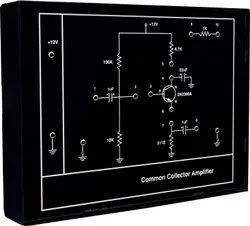 Common Collector Amplifier Trainer Kit