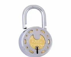 Globe Normal Designer Active Padlock, Packaging Size: 10 - 20 Pieces, Stainless Steel