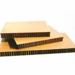 brown honeycomb sheet