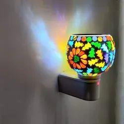 SSGJ Kapoor Dani Cum Night Lamp Premium Multi Functional Essential Oil Camphor Burner for Fragrance