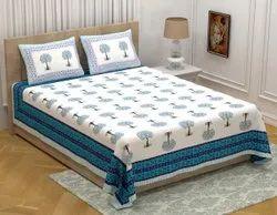Jaipuri Cotton Printed Bedsheet